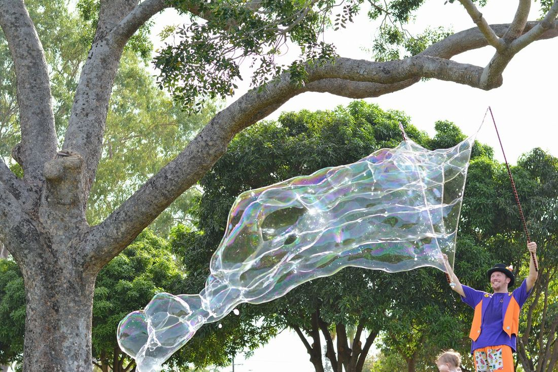 Darwin, Northern Territory, Giant Bubbles